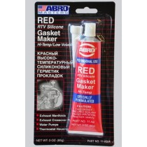 Герметик прокладок ABRO (красный) 11-АВ 32гр.